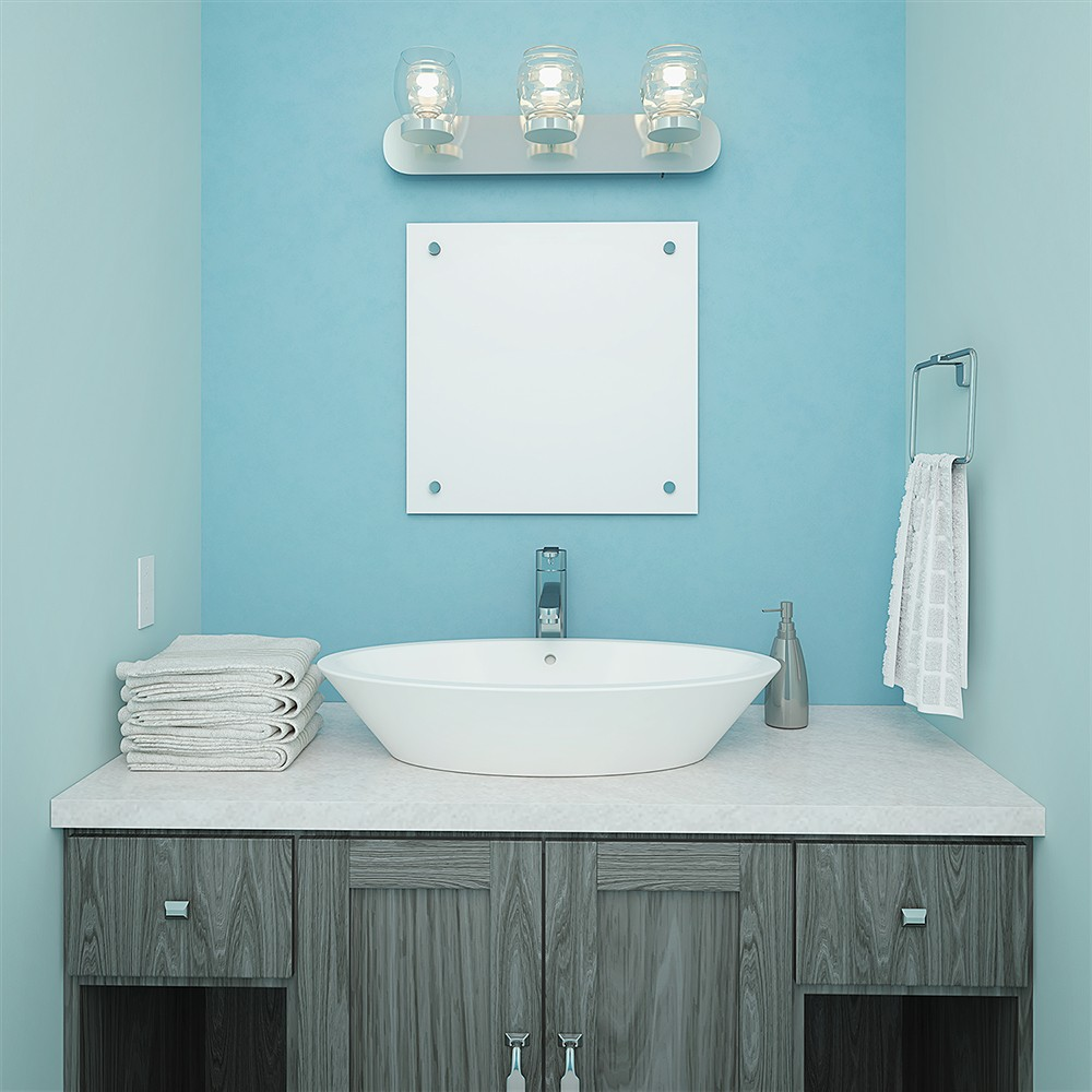 Shaina Oval Above-Counter Vitreous China Bathroom Sink