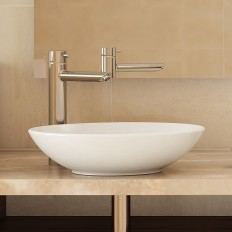 Classically Redefined® Round Above-Counter Vitreous China Bathroom Sink