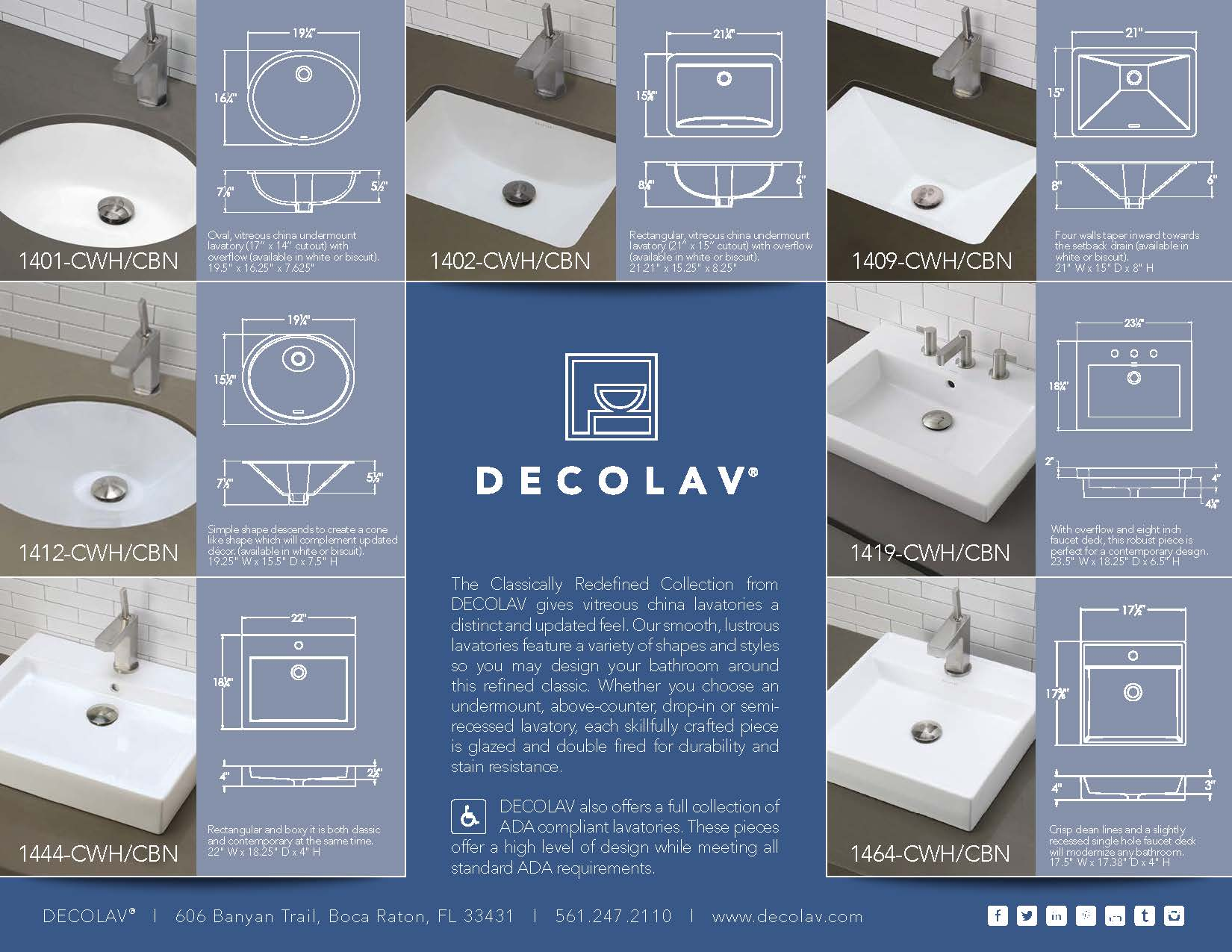 Ada Lavatory Knee Space decolav's ada compliant lavatories | decolav's stay in the know!