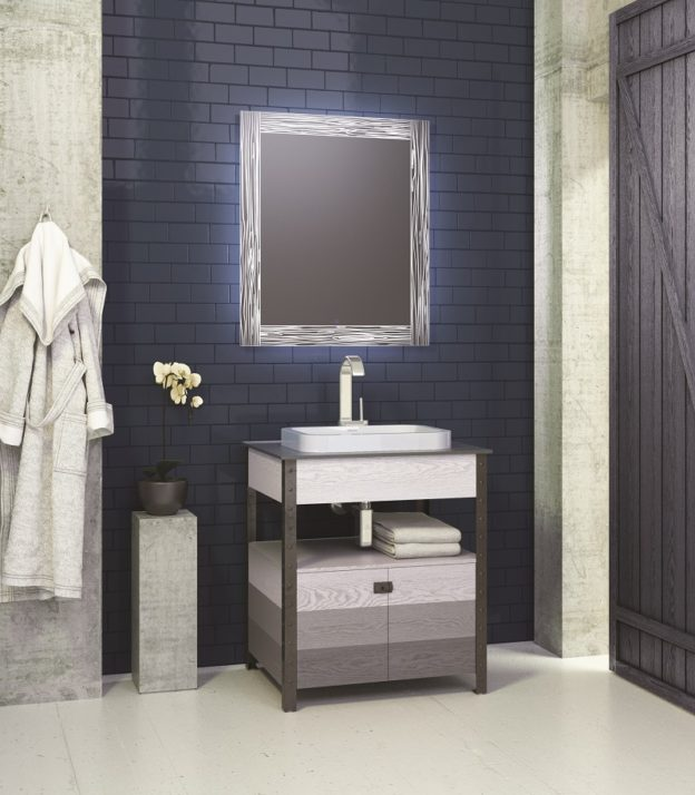 Designing the ultimate masculine bathroom decolav 39 s stay in the know - Masculine bathroom design ...