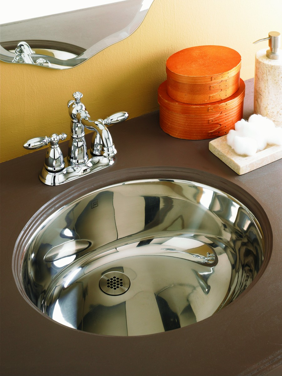 DECOLAV Taji 1300 Simply Stainless Collection - Oval ...