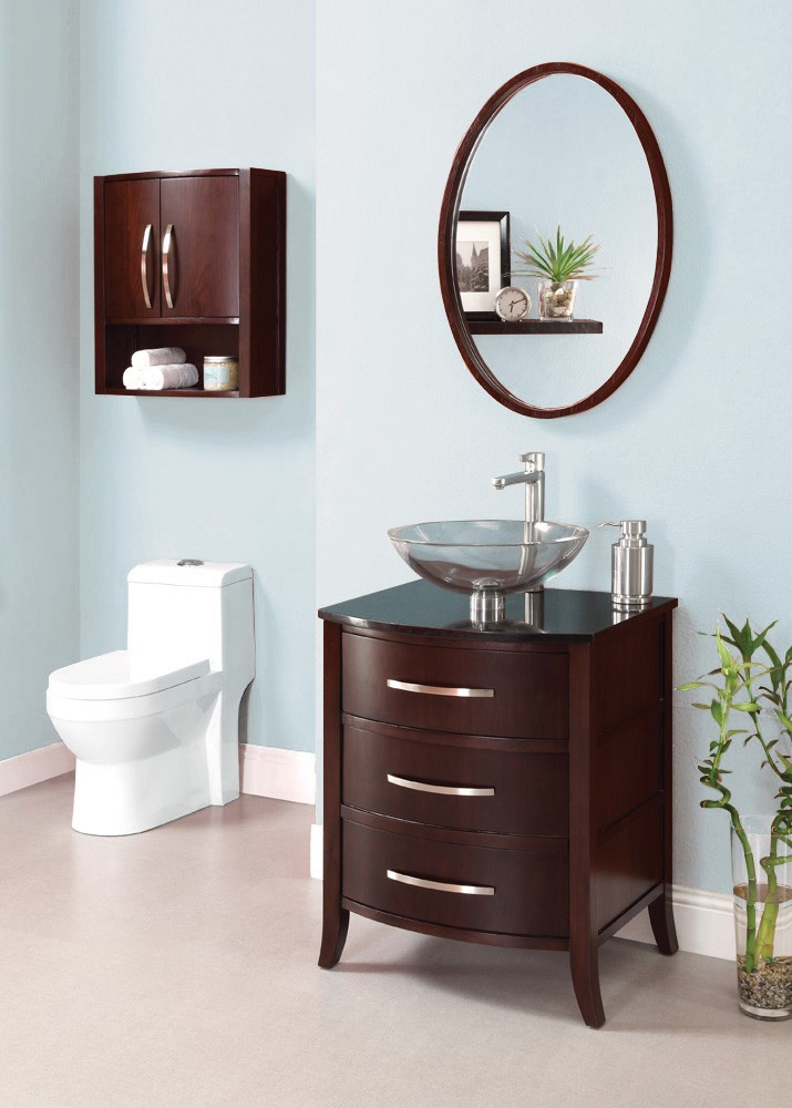 lola™ 24-inch bathroom vanity 5254 24 Inch Bathroom Vanity with Drawers