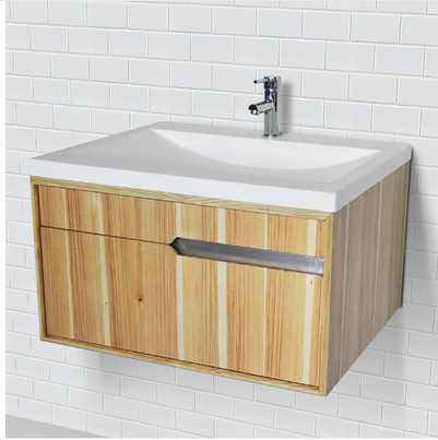 CITYSCAPE® WALLMOUNT VANITY WITH SOLID SURFACE COUNTERTOP