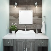 Kalina Rectangular Above-Counter Vitreous China bathroom Sink