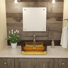 Lacee Rectangular Above-Counter Bathroom Sink