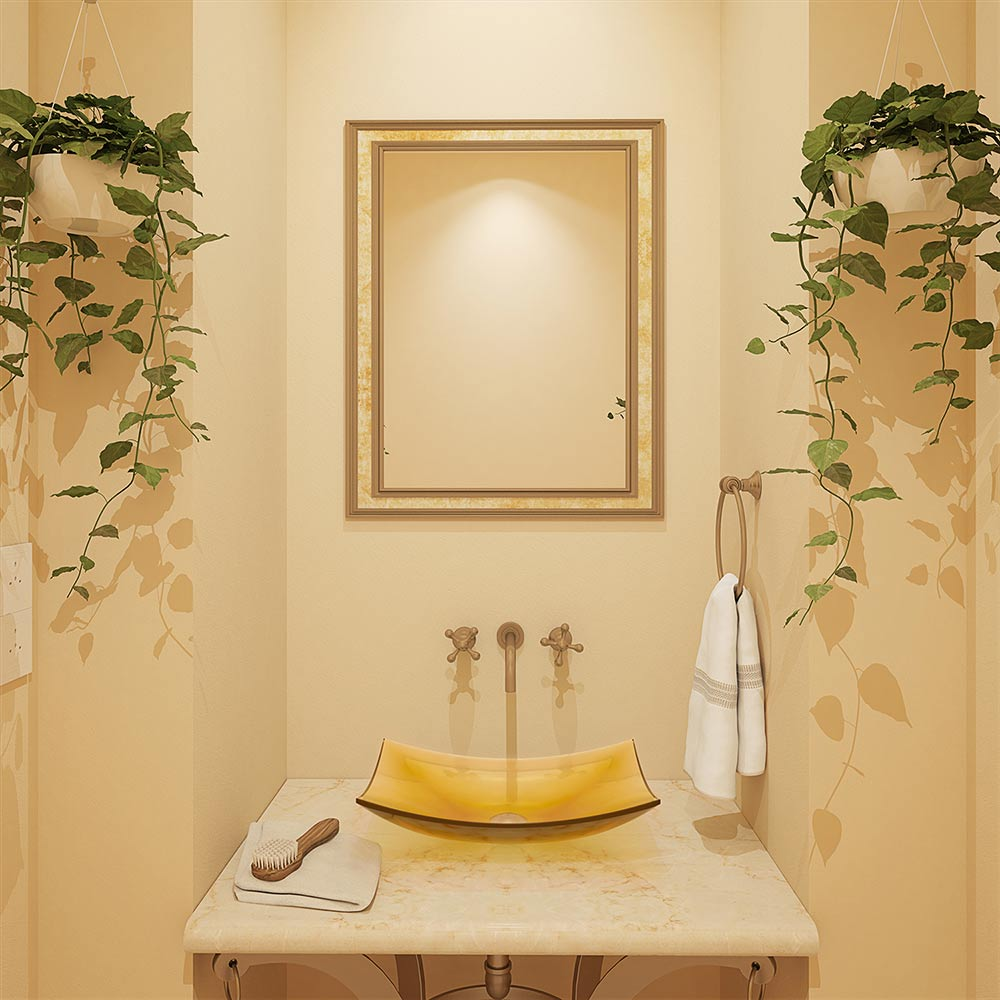 Bathroom Décor and the Joy of Autumn